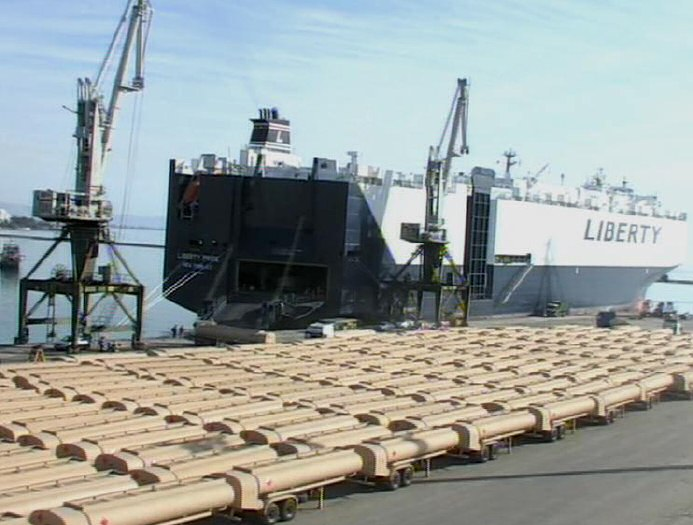 Delivery of 203 Fuel Tankers